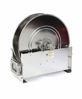 "Reelcraft D9300-OLS-S 3/4"" x 75' Ultimate Duty Stainless Hose Reel, 500 PSI No Hose"