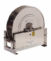 "Reelcraft D9300-OMS-S 3/4"" x 50' Ultimate Duty Stainless Hose Reel, 3000 PSI No Hose"
