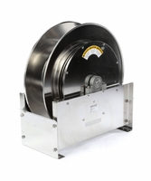 "Reelcraft D9400-OLS-S 1"" x 50' Ultimate Duty Stainless Hose Reel, 500 PSI No Hose"