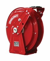 Reelcraft DP7400-OLP HD Spring Retractable 1/4 x 50ft, 500 psi, Air no Hose