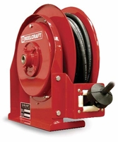 "Reelcraft F4525-OLP-BW 5/16"" x 25 ft Pavement Reel (bottom)"
