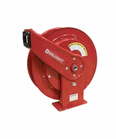 Reelcraft HD-74005-OHP 1/4 x 75' High Pressure Grease Hose Reel 5000ps
