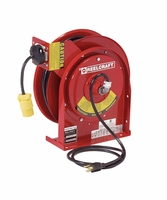 Reelcraft L-4545-123-3 12/3 x 45ft, 15 AMP, Single Outlet Electric Cord Reel