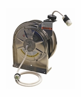 Reelcraft LS-5445-123-9G 12/3 x 45ft 15A Tri-tap GFCI Outlet Cord Reel with Cord
