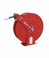 "Reelcraft PW81100-OHP 3/8"" x 100' 4800PSI Pressure Wash Hose Reel with Hose"