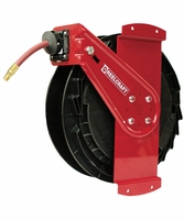 "Reelcraft RT650-OMPSM 3/8"" x 50' Side Mounted Reel, 1000 PSI w/ Hose"