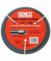 "SENCO PC0046 1/4"" x 100' Gray Air Hose without Fittings"