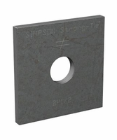 "Simpson Strong-Tie BP-1/2 1/2"" Bolt Dia 2 X 2 Bearing Plate"
