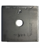 """Simpson Strong-Tie BP-1/2-3 1/2"""" Bolt Dia 3 X 3 Bearing Plate"""