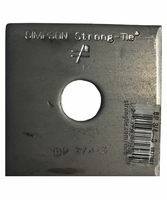 """Simpson Strong-Tie BP-3/4-3 3/4"""" Bolt Dia 3 X 3 Bearing Plate"""