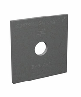 """Simpson Strong-Tie BP-5/8-3 5/8"""" Bolt Dia 3 X 3 Bearing Plate"""