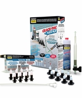 Simpson Strong-Tie CPFH09KT-KIT4 Crack Repair Kit + ETR16 CPFH09, 16 Ports, Hose