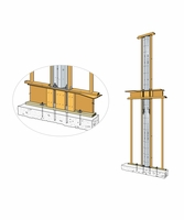 "Simpson Strong-Tie SSW21-2KT Steel Strong-Wall 21"" 2 Story Kit"