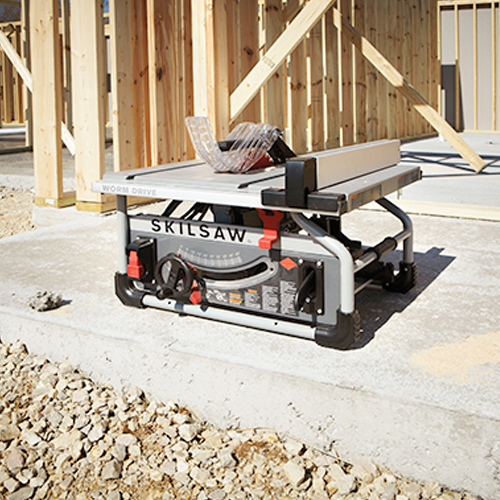 SKILSAW SPT70WT 22 10 In. Portable Worm Drive Table Saw