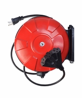 Southwire 48006SW 14/3-Gauge 30-Foot Retractable Cord Reel Power Station