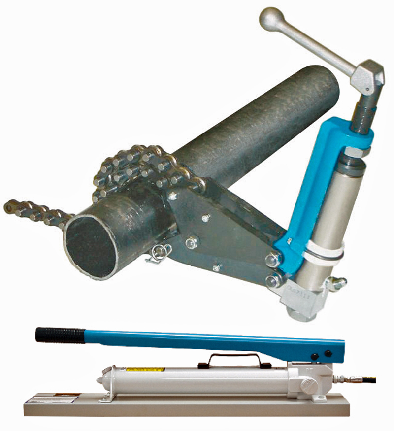Wheeler rex remotely operated hydraulic pipe cutter