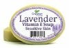 Lavender Vitamin E Soap for sensitive, thin skin, and normal skin types.