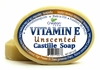 Unscented Vitamin E Castile Soap