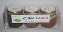 Coffee Lovers Creamed Honey Gift Pack - Cinnamon, Pumpkin Pie Spice, Chocolate