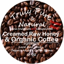 Raw Creamed Honey - Organic Coffee 6 oz