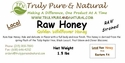 Raw Strained Honey - Pint / 1.5 lbs