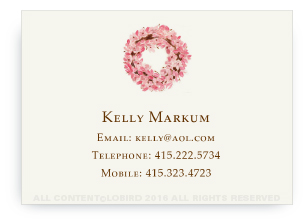 Calling Cards - Magnolia Wreath