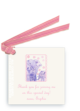 Elephant Mother & Child - Gift Tags