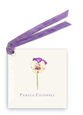 Gift Tags - Pansy