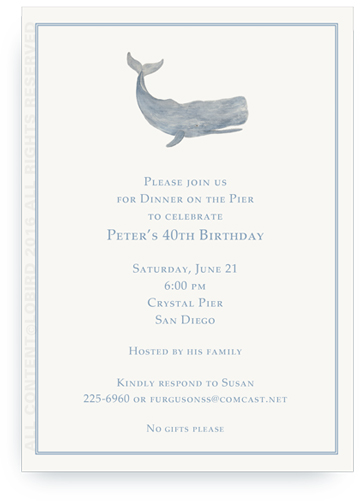 invitation sperm whale