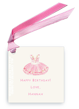 Sugar Plum Ballet Dress - Gift Tags