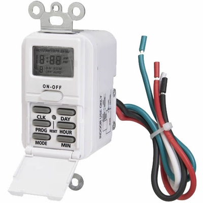 wire in programmable digital wall switch timer. Black Bedroom Furniture Sets. Home Design Ideas