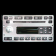 01-04 Ford Mustang Billet 6 CD Radio Faceplate