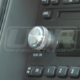 01-04 Ford Mustang Billet Radio Knob Flat Style