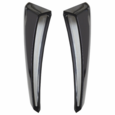 01-04 Mustang GT Stainless Steel Side Scoop Inserts Polished