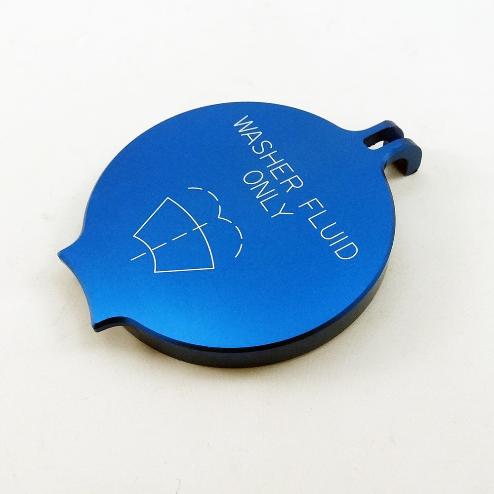 Dodge Billet Washer Fluid Cap Engraved Blue on 06 Dodge Dakota Price