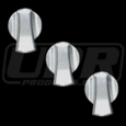 05-09 Ford Mustang Billet AC Knob Covers