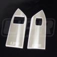 "05-09 Mustang Billet ""UPR"" Hardtop Window Switch Plates Polished"