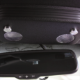 05-15 Ford Mustang Billet Map Light Button Covers