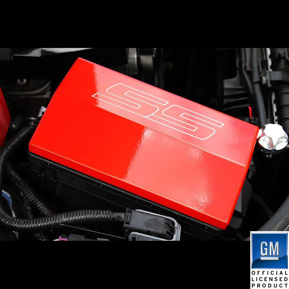 2011 Camaro Fuse Box 10 14 Chevrolet Billet Fusebox Cover Ss Logo