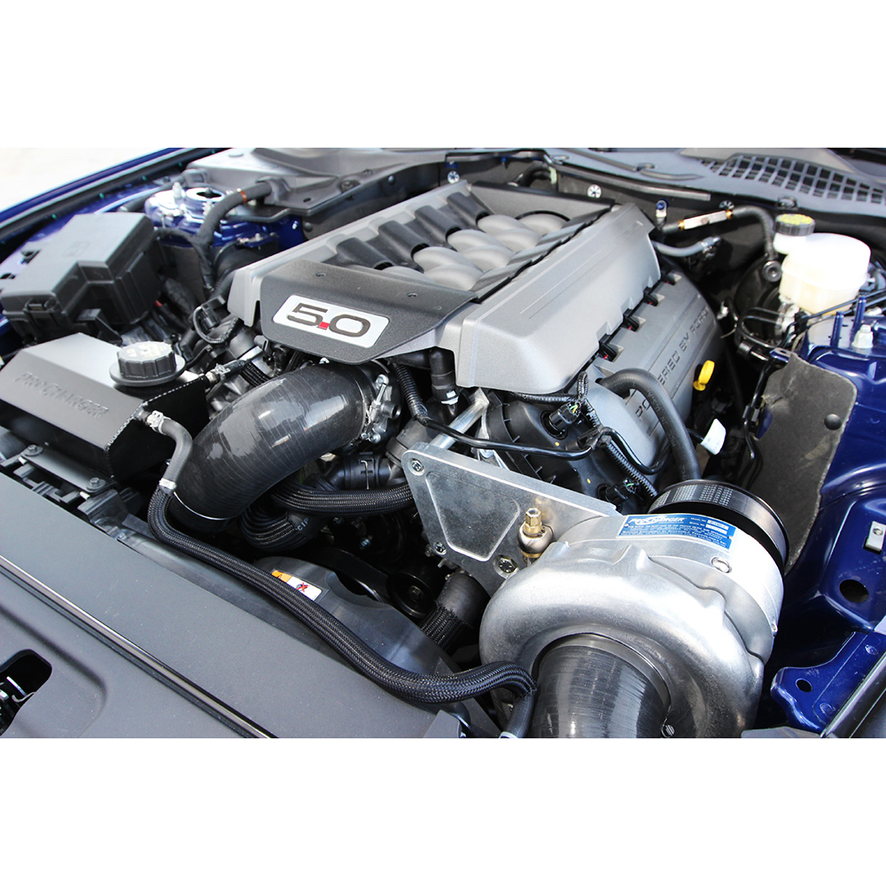 Centrifugal Supercharger Horsepower: 15-17 Mustang 5.0 Procharger Supercharger Stage 2 Kit
