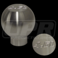 79-04 Mustang Billet Shift Knob Small Flat Top 4.6L Logo