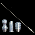 79-09 Mustang Billet Antenna with Designer Tip