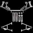 79-93 Mustang Chrome Moly K Member Kit