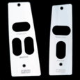 "87-93 Ford Mustang Billet ""UPR"" Window Switch Plates"