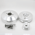 96-00 Mustang Billet Aluminum Underdrive Pulley Kit Polished