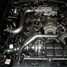 99 04 Mustang GT Hellion Turbo System