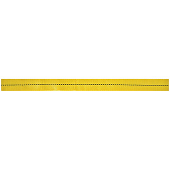 "Cypher Tubular Webbing 11/16""X300' Yellow"