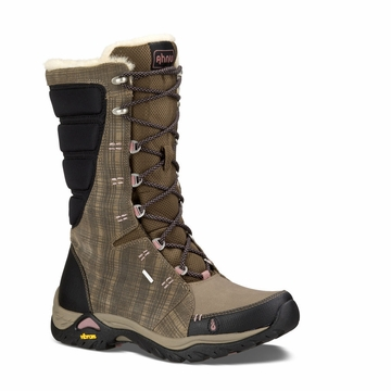 Ahnu Womens Northridge Insulated Waterproof Boots Brindle