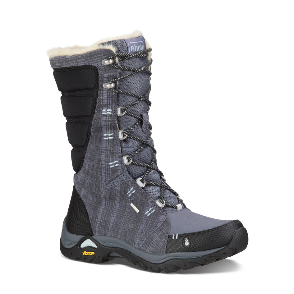 Ahnu Womens Northridge Insulated Waterproof Boots Winter Smoke
