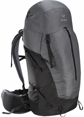 Arc'teryx Bora AR 63 Backpack Titanium